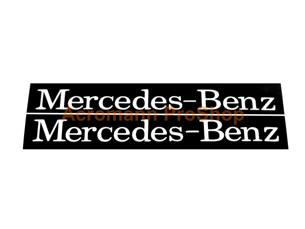 Mercedes-Benz 4inch Brake Caliper Stencil Masking Decal x 2 pcs